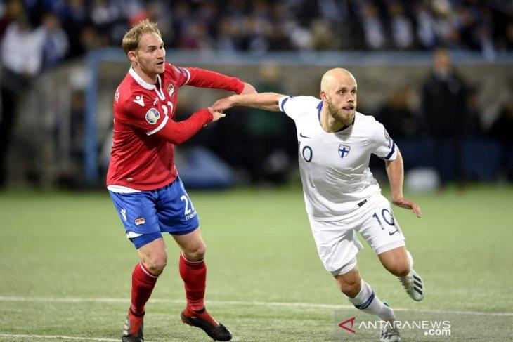 Kualifikasi Piala Eropa, Finlandia lolos untuk pertama kali