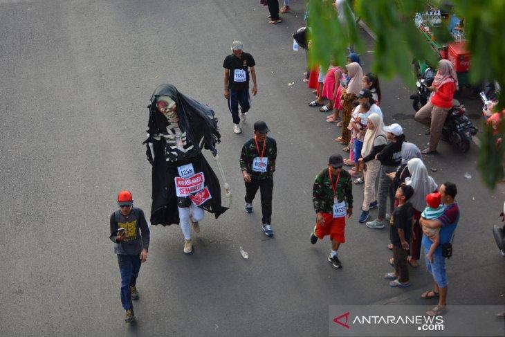 Gerak jalan perjuangan Mojokerto-Surabaya