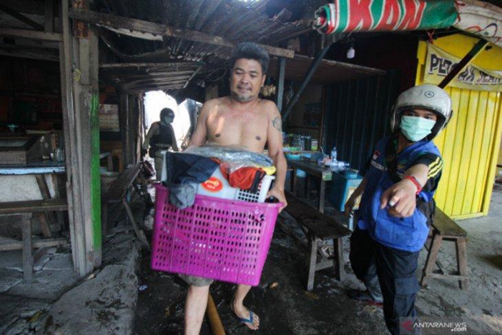 Kerugian kebakaran Pasar Bendul Merisi Surabaya diestimasi capai Rp30 juta
