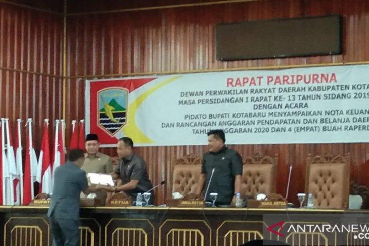 Kotabaru ajukan Raperda tentang susunan perangkat daerah