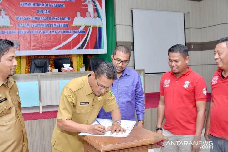 Sabang-YARA jalin kerjasama bantuan hukum gratis bagi masyarakat