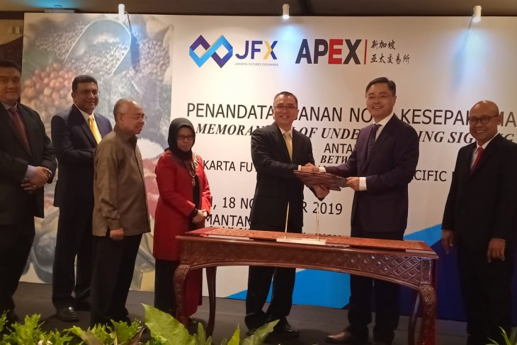 JFX signs pact with APEX for exchange of stocks information