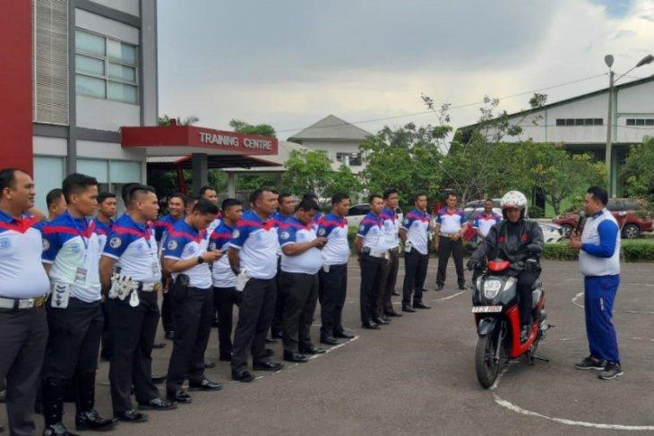 50 PJR Polda Jambi ikuti edukasi safety riding