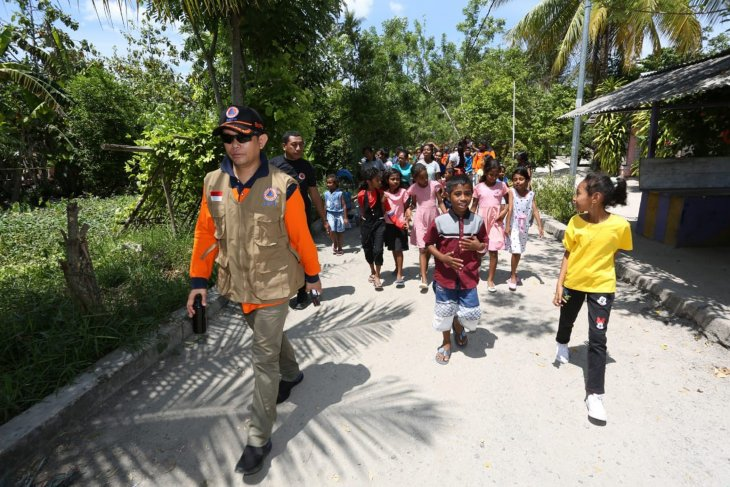 BPNB-Pemkab Kepulauan Aru rampungkan rencana kontigensi gempa dan tsunami