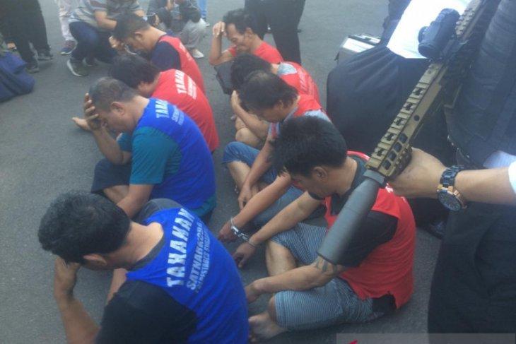 Polrestabes Surabaya gagalkan peredaran sabu-sabu 1,3 kg