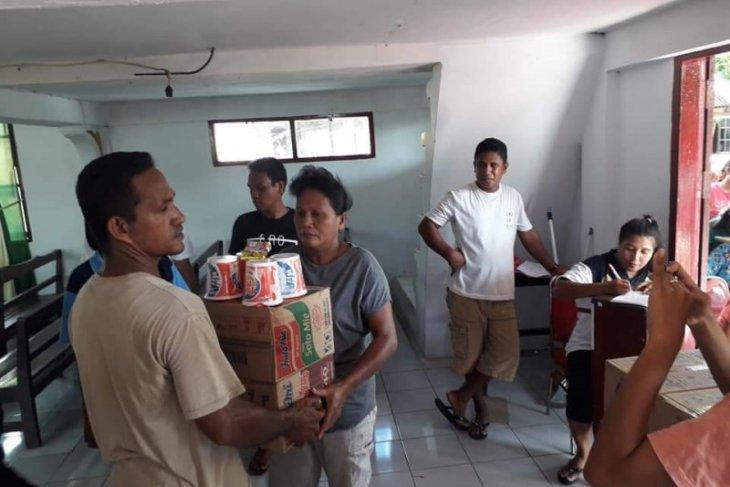 Bantuan korban gempa di Posko GPM Imanuel tersalur ke Batang Dua