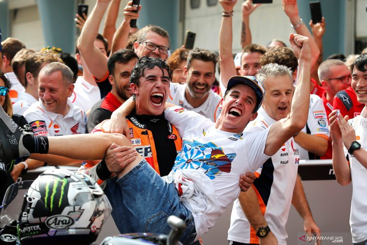 Marc Marquez senang dapati sang adik di MotoGP 2020