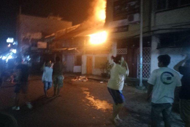 Dua unit rumah di Binjai terbakar
