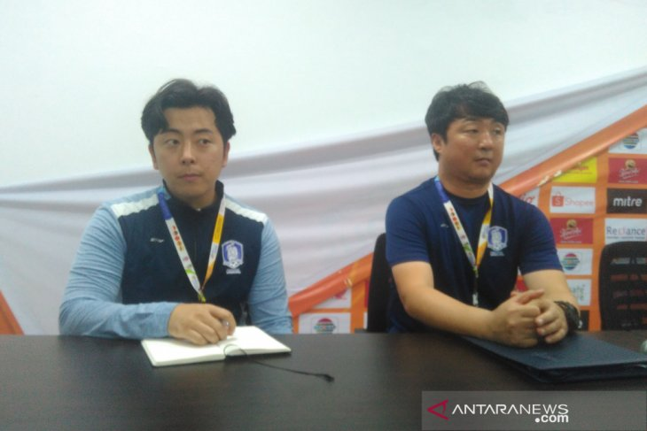 Schools Football Championship - Tim pelajar Korsel berharap akan bertemu Indonesia di final