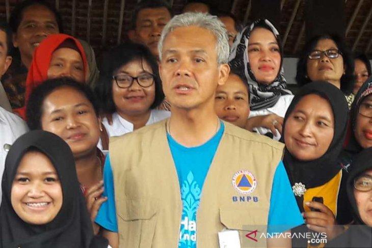 Gubernur Jateng bebaskan semua biaya pengobatan korban ambruknya sekolah Sragen