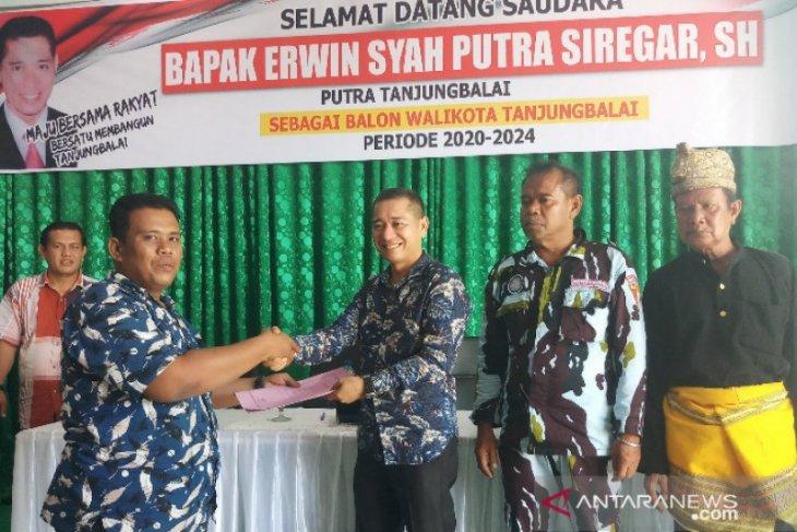 Balon wali kota, Erwin berniat memperbaiki perekonomian Tanjungbalai