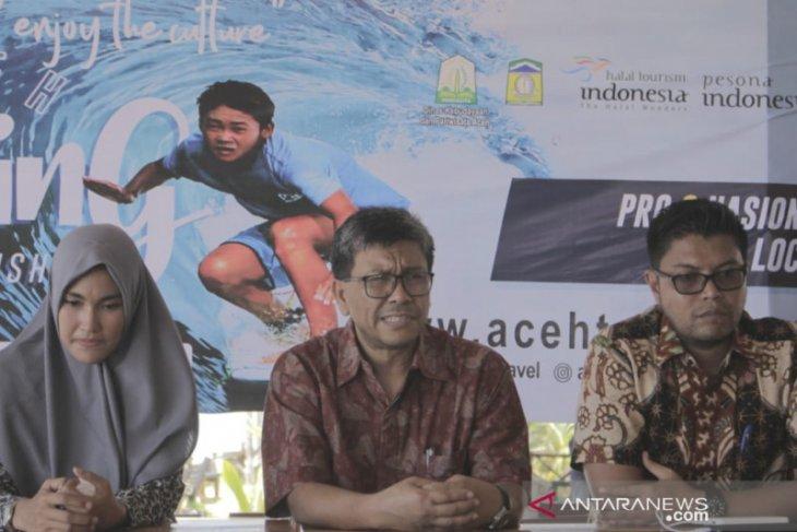 Aceh gelar Surfing championship di Pantai Lhoknga