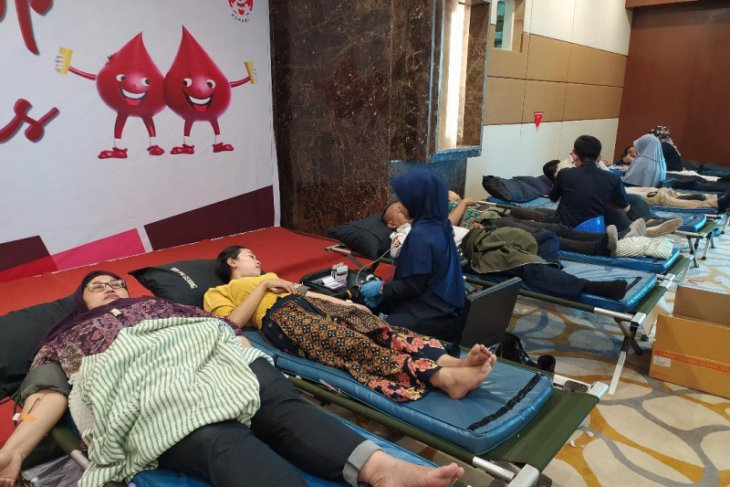 Bank Indonesia Perwakilan Banten kembali gelar donor darah
