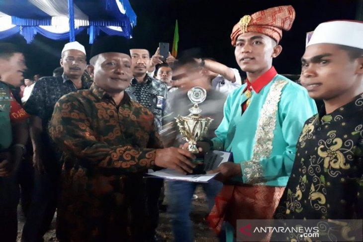 Festival nasyid tingkat Kabupaten Madina resmi ditutup