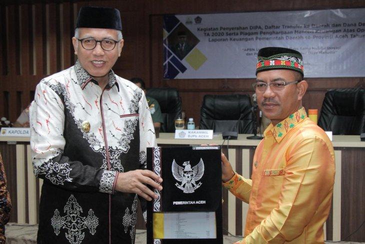 Gubernur Aceh tegaskan anggaran DIPA jangan diendapkan