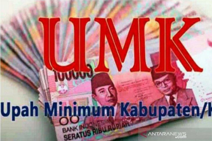 UMK Ambon ditetapkan sebesar Rp264 juta