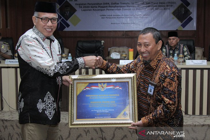 Dana intensif daerah wilayah Aceh naik Rp383 miliar