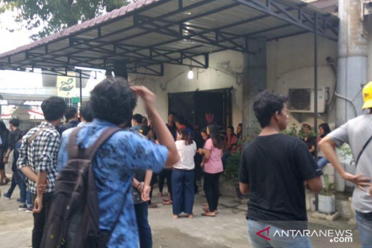 Bentrok  mahasiswa di Medan, satu orang tewas