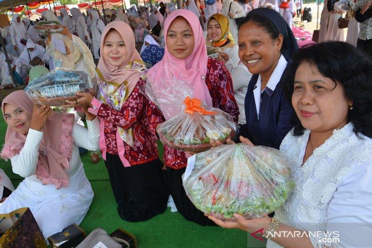 Festival kenduri 5000 layah di Mojokerto
