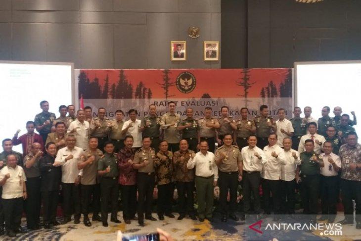 Kalbar jadi percontohan penanggulangan Karhutla di Indonesia