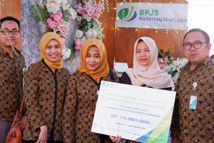 BPJS Ketenagakerjaan gandeng Bupati Jombang ajak masyarakat sadar jaminan sosial