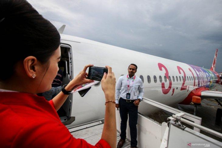 Pesawat AirAsia batalkan penerbangan dari dan ke Wuhan