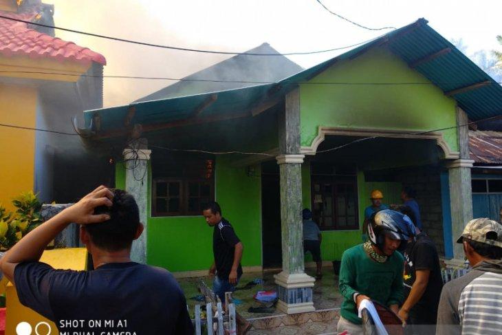 Tiga unit rumah di Gorontalo Utara terbakar
