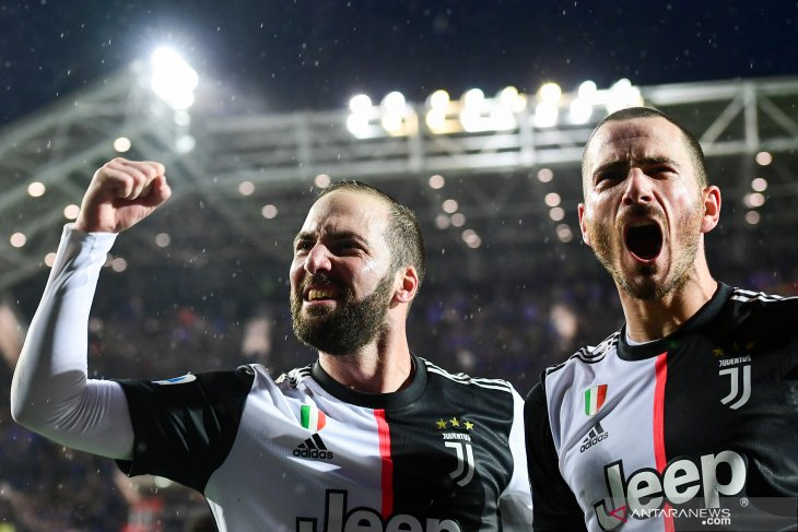 Liga Italia, Juve bangkit dari ketinggalan untuk menang 3-1 di markas Atalanta