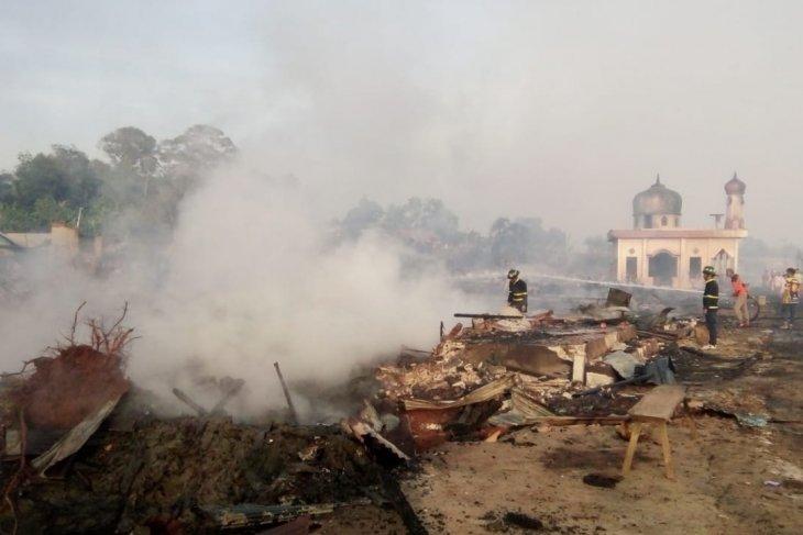 Kebakaran di Pulau Sebuku hanguskan pasar dan fasilitas umum lain
