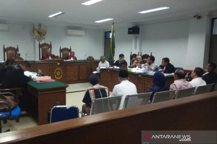 Tiga pejabat Sabang diperiksa di Pengadilan Tipikor
