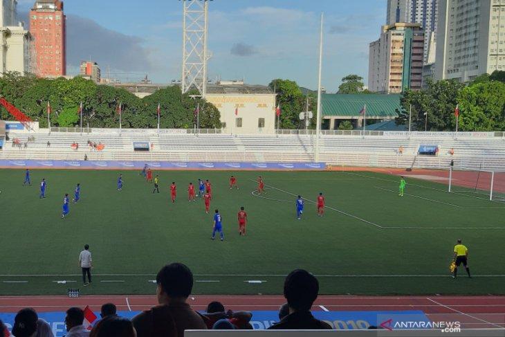 Egy-Osvaldo bawa Indonesia kalahkan Thailand 2-0 di SEA Games 2019