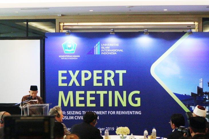 Wapres Ma'ruf Amin: Indonesia layak jadi rujukan kajian dunia Islam moderat