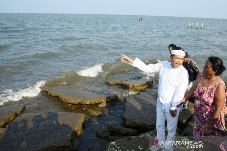 Anggota DPR Dedi Mulyadi ajak KKP tangani abrasi pantai utara Karawang