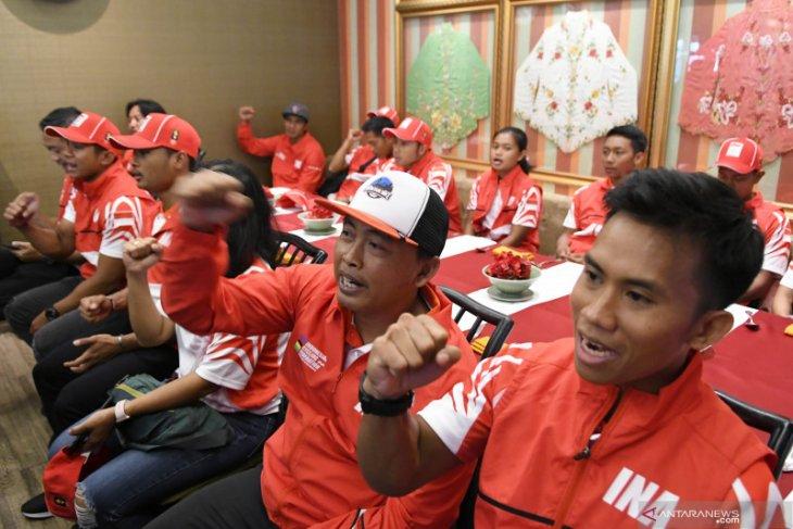 SEA Games 2019 - Rendang jadi sejata andalan tim balap sepeda Indonesia di Filipina
