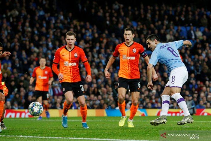 Liga Champions, Manchester City lolos ke fase gugur sebagai juara Grup C