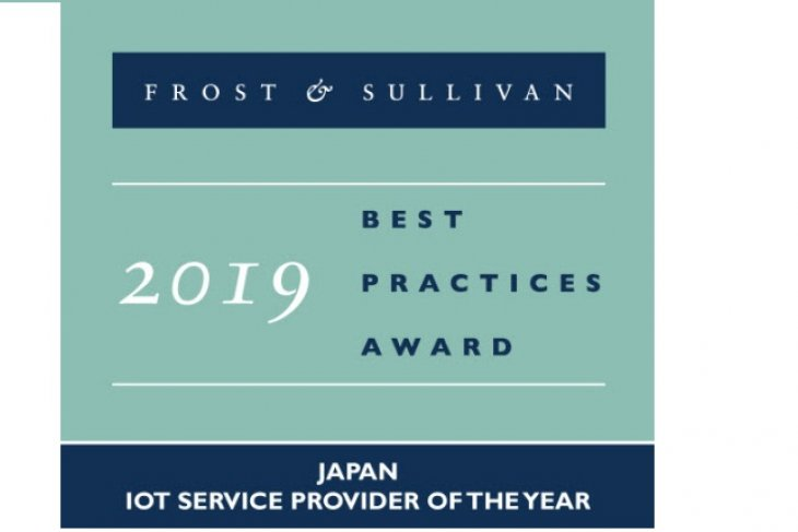 NTT Communications named 2019 Japan IoT Service Provider of the Year at Frost & Sullivan 2019 Asia Pacific ICT Awards