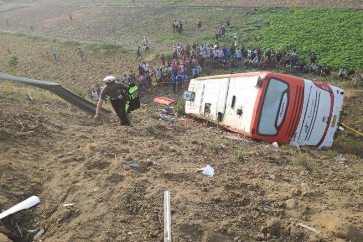 Sopir bus ngantuk akibatkan dua penumpang meninggal dunia