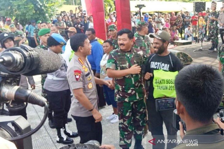 Panglima TNI: Ini kunjungan kerja pertama Kapolri