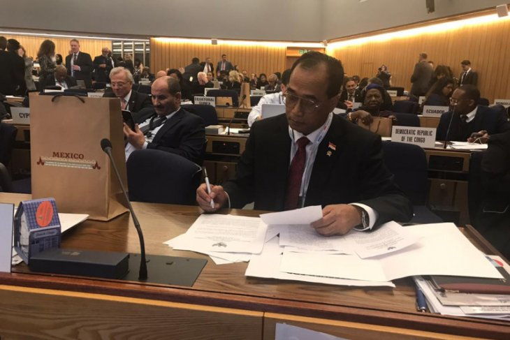 Indonesia consistently supports IMO for maritime safety maintenance