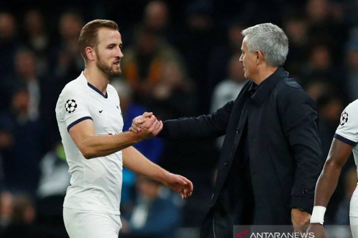 Liga Inggris: Kane ingin bangun hubungan kuat dengan Mourinho