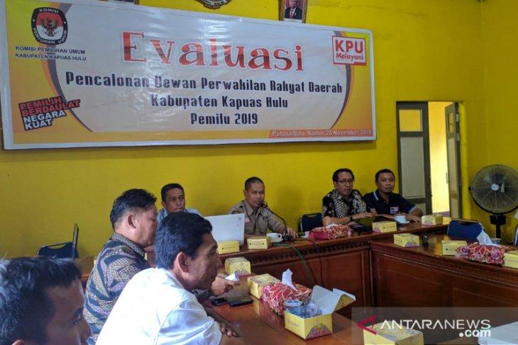 KPU Kapuas Hulu gelar evaluasi pencalonan pemilihan legislatif