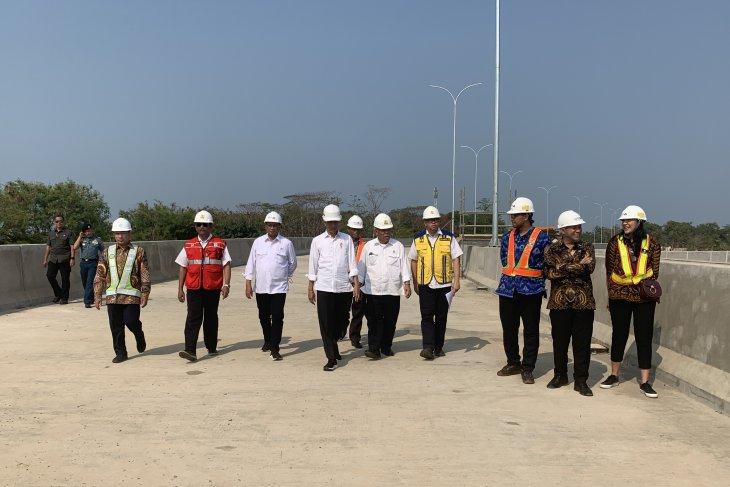 Presiden Jokowi targetkan jalan akses menuju Patimban rampung Juni 2020