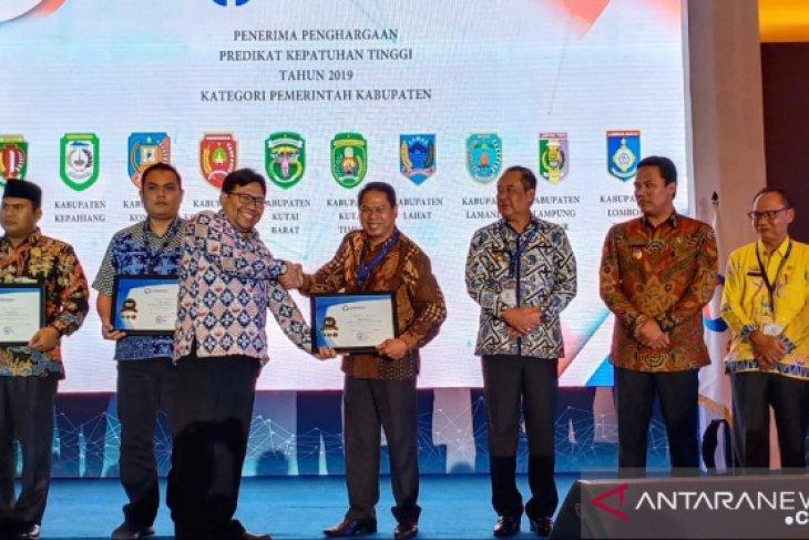 Kutai Timur raih anugerah Kepatuhan Tinggi 2019