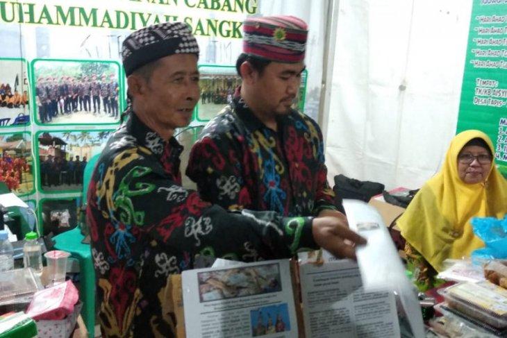 PC Muhammadiyah Sangkulirang ikut expo di Sulsel