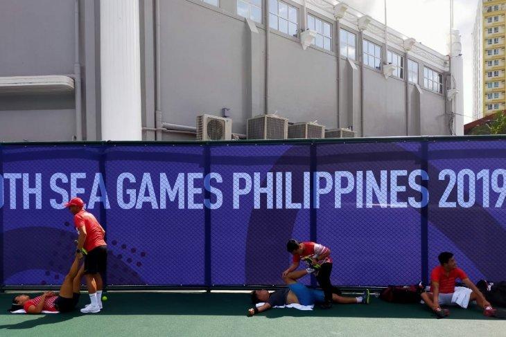 SEA Games 2019, dua ganda campuran tenis Indonesia melaju ke semifinal