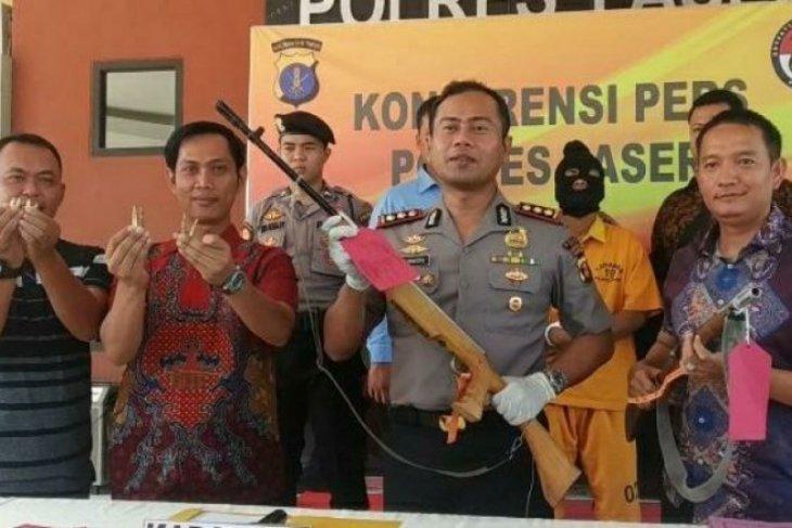 Polres Paser amankan warga pemilik senjata api rakitan