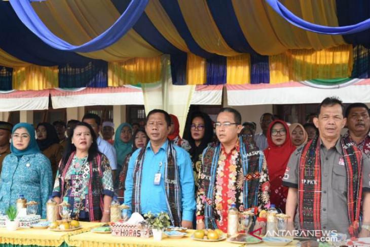 Tim PTP2WKSS Sumut kunjungi desa binaan Aek Pardomuan