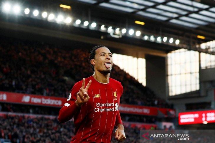 Klasemen Liga Inggris, Liverpool unggul 11 poin di puncak