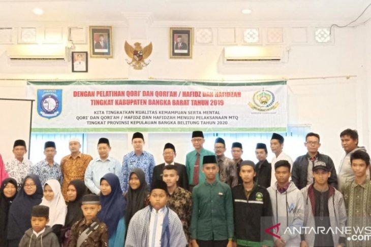 Pemkab Bangka Barat gelar pelatihan seni baca Al-Quran