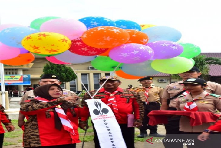 Ribuan peserta terlibat gebyar pramuka di Polbangtan Medan
